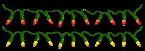 Christmas Decoration Lights PNG Transparent PNG Clip art
