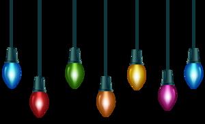 Christmas Decoration Lights Transparent PNG PNG Clip art