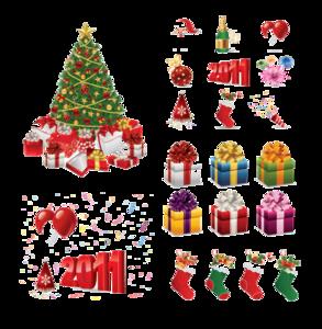 Christmas Elements PNG HD PNG Clip art