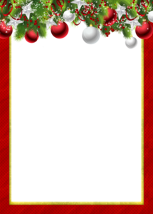 Christmas Frame PNG Pic PNG Clip art