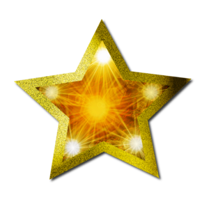 Christmas Gold Star PNG Clipart PNG Clip art