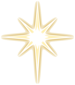 Christmas Gold Star PNG Image PNG Clip art