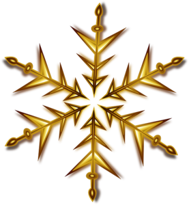 Christmas Gold Star PNG Pic PNG Clip art