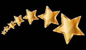 Christmas Gold Star Transparent PNG PNG Clip art