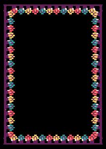 Christmas Lights Border PNG Free Download PNG Clip art