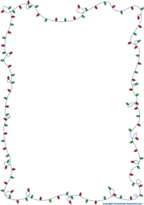 Christmas Lights Border PNG Photos PNG clipart
