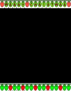 Christmas Lights Border PNG Transparent PNG Clip art