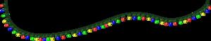 Christmas Lights Transparent Background PNG Clip art