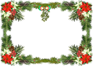 Christmas Nature Transparent PNG PNG clipart