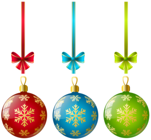 Christmas Ornaments PNG File PNG Clip art