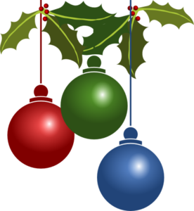 Christmas Ornaments Transparent Background PNG Clip art