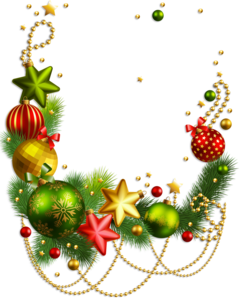 Christmas Ornaments Transparent PNG PNG image