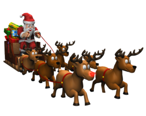 Christmas Reindeer PNG Clipart PNG Clip art