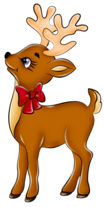 Christmas Reindeer PNG File PNG Clip art