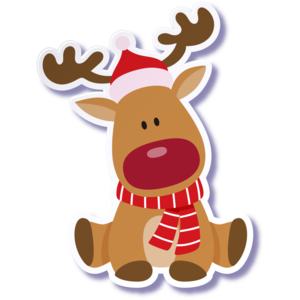 Christmas Reindeer PNG Photo PNG Clip art
