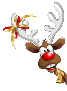 Christmas Reindeer PNG Pic PNG Clip art
