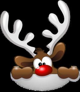 Christmas Reindeer PNG Transparent PNG Clip art