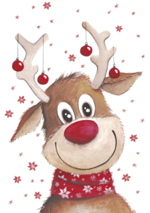 Christmas Reindeer Transparent Background PNG Clip art
