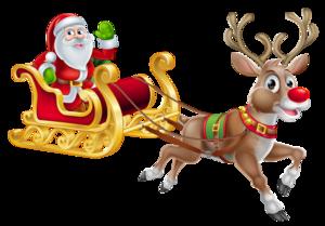 Christmas Reindeer Transparent PNG PNG Clip art