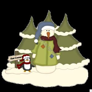 Christmas Scenes PNG File PNG Clip art