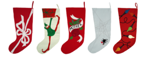 Christmas Stocking Transparent Background PNG Clip art