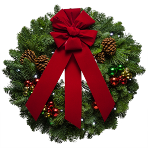 Christmas Wreath PNG Free Download PNG Clip art