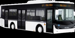 City Bus Transparent Background PNG Clip art