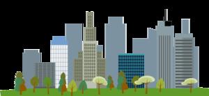 Cityscape Transparent Background PNG Clip art