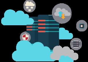 Cloud VPS Transparent Background PNG Clip art