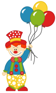Clown Transparent Background PNG Clip art