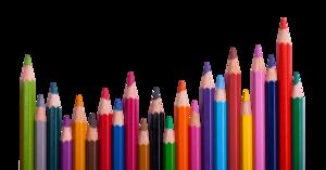 Color Pencil PNG Transparent Image Clip art