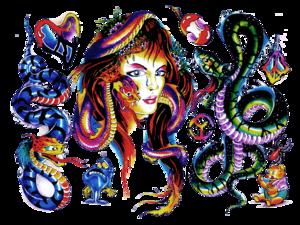 Color Tattoo Transparent Background PNG Clip art
