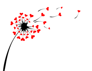 Colored Dandelion PNG Image PNG Clip art