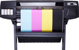 Colored Printer Transparent Background PNG Clip art