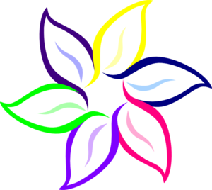 Colorful Flowers PNG HD PNG Clip art
