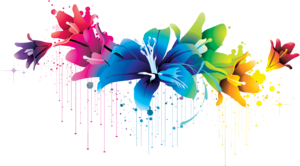 Colorful Flowers PNG Image PNG Clip art