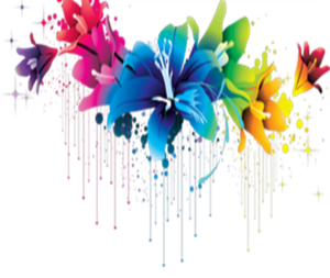 Colorful Flowers PNG Pic PNG Clip art