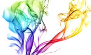 Colorful Smoke Transparent PNG PNG Clip art