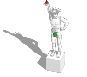 Colossus of Rhodes PNG Clipart PNG Clip art