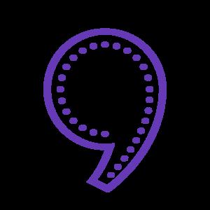 Comma PNG Transparent PNG Clip art