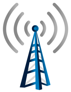 Communication Tower PNG Pic PNG clipart