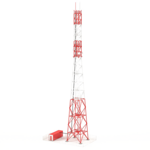 Communication Tower Transparent Background PNG Clip art