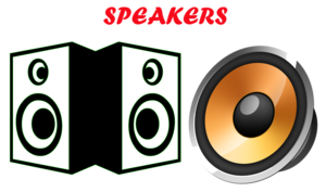 Computer Speakers PNG Pic PNG Clip art