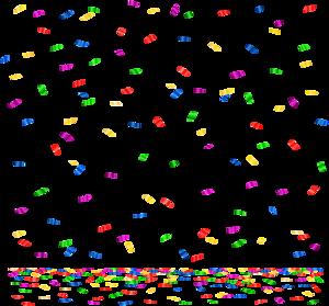 Confetti PNG Image PNG Clip art