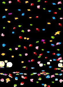 Confetti Transparent PNG PNG Clip art
