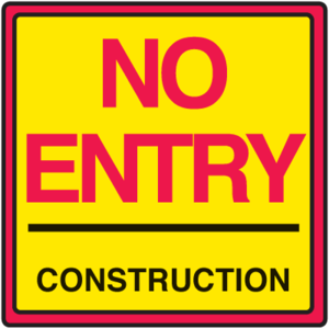 Construction Sign PNG Pic PNG Clip art