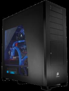 CPU Cabinet Transparent Background PNG Clip art