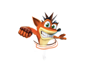 Crash Bandicoot Transparent Background PNG Clip art