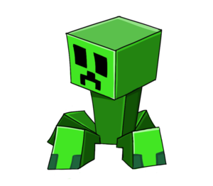 Creeper Transparent Background PNG icon