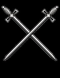 Cross Sword PNG Clip art